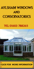 Aylsham Windows and Conservatories Advert
