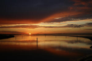 Breydon Water Sunset by Phil Carpenter