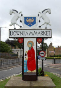Downham Market Sign