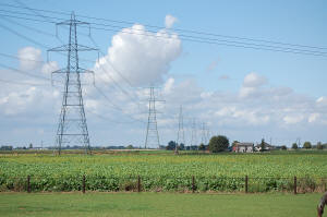 Pylons in the Fens