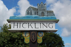 Hickling Village Sign