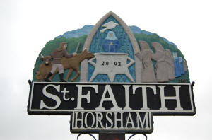 Horsham St Faith Village Sign