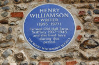 Henry Williamson Plaque