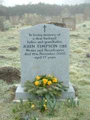 Grave of John Timpson