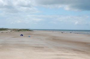 Holkham Beach from Wells