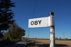 Oby Signpost