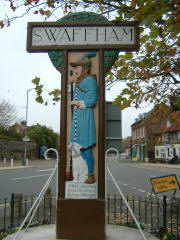 Swaffham Sign
